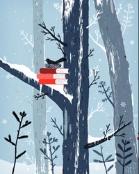 Books-winter